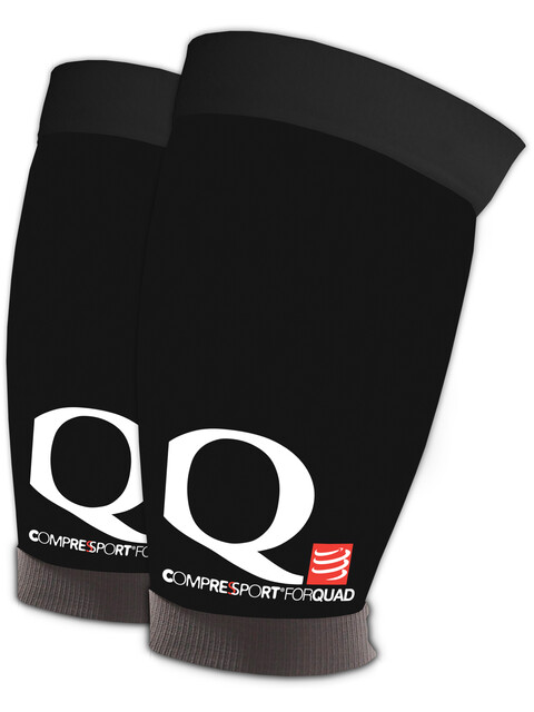 Compressport Quad Sleeves Black